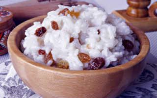 Кутья из риса с изюмом «поминальная»: рецепт