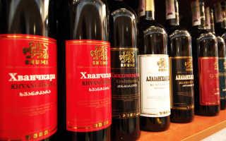Вино Хванчкара красное: что нужно знать о нем, описание сорта, отзывы