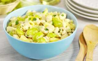 Салат с ананасом и виноградом – рецепты с фото