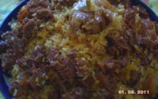 Плов с изюмом – пошаговый кулинарный рецепт с фото