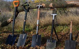 Какие формы лопат бывают и где их можно использовать