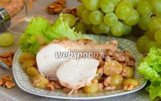 Рецепт курица с виноградом – рецепты с фото