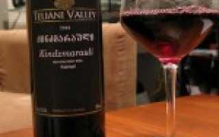 Красное вино Киндзмараули: что нужно знать, описание сорта, отзывы
