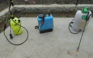 Как сделать самодельный опрыскиватель для сада