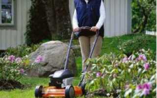 Правила и нормы эксплуатации газонокосилок
