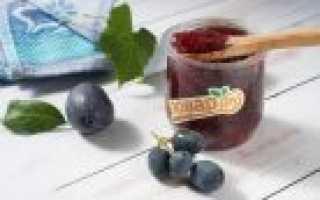 Виноградное варенье (фото, видео рецепт)